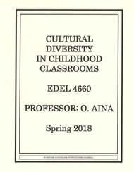 AINA'S EDEL 4660 (SPRING 2018)