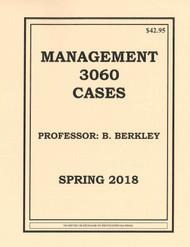 BERKLEY'S MGMT 3060 (SPRING 2018)