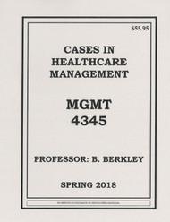 BERKLEY'S MGMT 4345 (SPRING 2018)