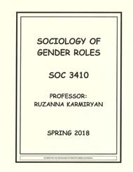 KARMIRYAN'S SOC 3410 (SPRING 2018)