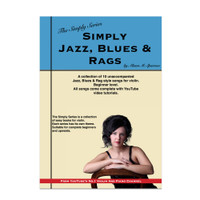 Simply Jazz, Blues & Rags for Violin | The Simply Series | (Download only)