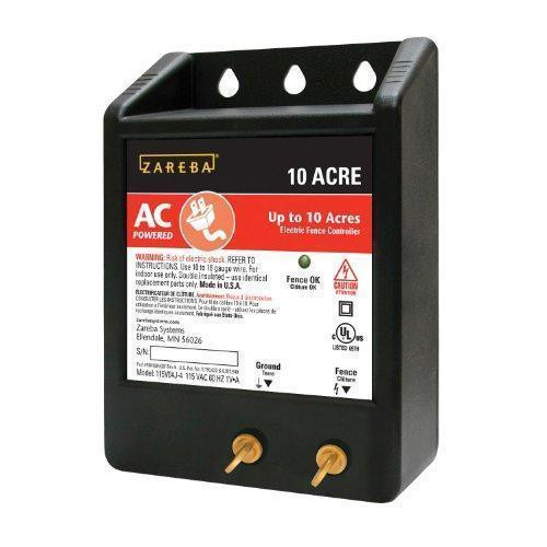 Zareba® 10 Acre AC Powered Solid State Fence Charger