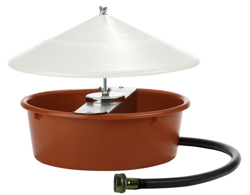 Little Giant Automatic Poultry Waterer with Cover