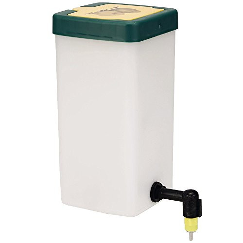 1 - Liter Chick Nipple Waterer  Good for up to 25 Chicks  Flip open Top for easy refills.  The chicks catch on really fast !