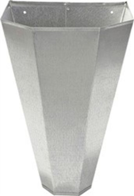 Medium Restraining Cone  Item #: RC2 Cone restrains birds during processing and makes clean up easy. Made of heavy-gauge galvanized steel with hemmed edges for safety. The flat back design allows for easy mounting. For use on large layers, broilers, roasters and young turkeys up to 10 pounds.      Flat back for easy mounting     Hemmed edges for safety     Easy to clean     Heavy-gauge galvanized steel     For use on large layers, broilers, roaster and young turkeys up to 10 lbs