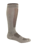 Our knee high performance alpaca socks are ideal for hiking and winter sports.