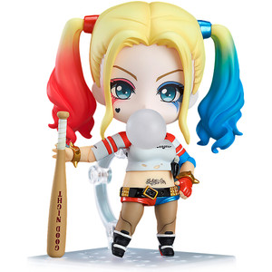 "Harley Quinn: ~3.9"" Suicide Squad x Good Smile Company Nendoroid Mini Action Figure"