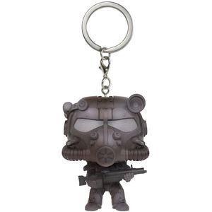 T-60 Power Armor: Funko Pocket POP! x Fallout 4 Mini-Figural Keychain