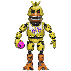 Nightmare Chica: Funko x Five Nights at Freddy's Action Figure
