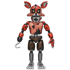 Nightmare Foxy: Funko x Five Nights at Freddy's Action Figure