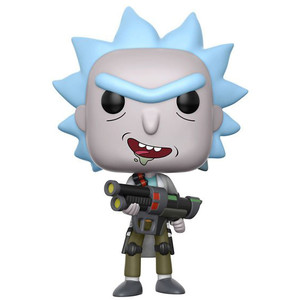 Weaponized Rick (Chase Edition): Funko POP! Animation x Rick & Morty Vinyl Figure