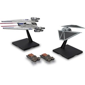 U-Wing Fighter & TIE Striker : 1/144 Bandai Star Wars Plastic Model Kits