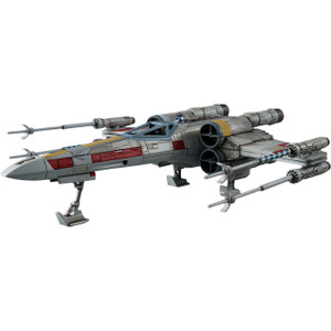 X-Wing Star Fighter: 1/72 Bandai Star Wars Plastic Model Kits