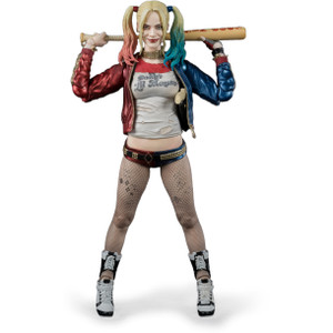 "Harley Quinn: ~5.9"" Suicide Squad x Tamashii Nations S.H. Figuarts Action Figure"