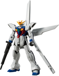 GX-9900 Gundam X [Buster Sheath Rifle]: Gundam X x Bandai Shokugan Gundam Universal Unit Micro Figure Vol. 2