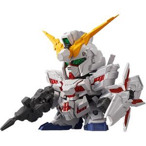 RX-0 Unicorn Gundam [Destroy Mode]: Gundam Gundam Unicorn x Bandai Shokugan FW SD Gundam Neo Micro Figure Vol. 2