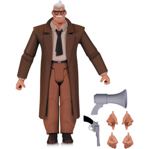 """Commissioner Gordon: ~6"""" Batman The Animated Series x DC Collectibles Action Figure"""