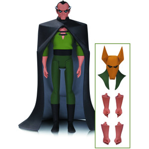 """Ra's Al Ghul: ~6"""" Batman The Animated Series x DC Collectibles Action Figure"""