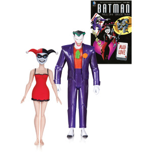 Mad Love Harley Quinn & The Joker: Batman The Animated Series x DC Collectibles Action Figure