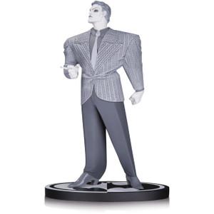 "The Joker by Frank Miller [The Dark Knight Returns]: ~7.25"" DC Collectibles Batman Black & White Statue Figurine"