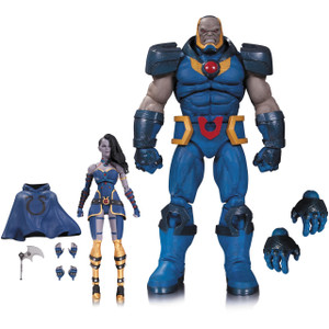 "Darkseid & Grail: ~12"" DC Comics Icons 2-Action Figure Pack"