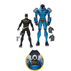 Armored Batman &  Batman (James Gordon) by Greg Capullo: DC Comics Designer Series Action Figure