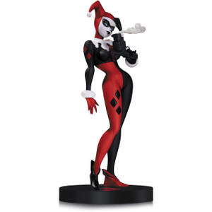 "Harley Quinn by Bruce Timm: ~12.75"" DC Comics Designer Series Statue Figurine"