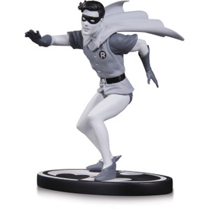 """Robin by Infantino [Batman: The Animated Series]: ~6"""" DC Collectibles Batman Black & White Statue Figurine"""