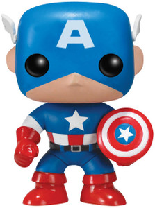 Captain America: Funko POP! x Marvel Universe Vinyl Figure