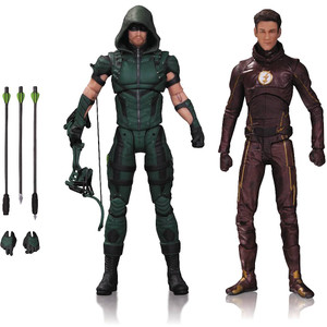 Arrow & Flash: Arrowerse x DC Collectibles DCTV Dual-Action Figure Pack