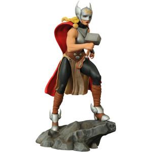 "Lady Thor: ~9"" Marvel Gallery Statue Figurine"
