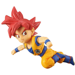 Super Saiyan God Son Goku: DragonBall Super x Banpresto WCF ~Anime 30th Anniversary~  Mini Statue Figurine Vol.5 (37045A)