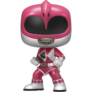 Pink Ranger [Metallic] (Hot Topic Exclusive): Funko POP! TV x Power Rangers Vinyl Figure