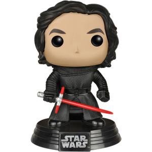 Kylo Ren [Unmasked] (Walmart Exclusive): Funko POP! x Star Wars Vinyl Figure
