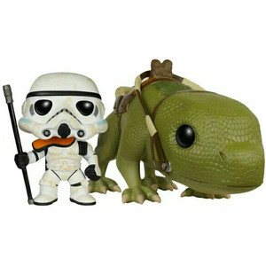Sandtrooper & Dewback (Walmart Exclusive): Funko POP! x Star Wars Vinyl Figure