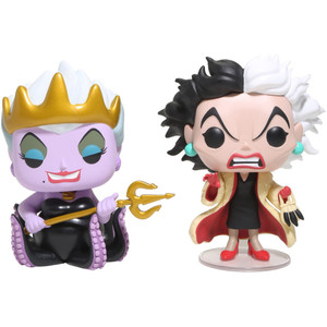 Ursula & Cruella De Vil (Hot Topic Exclusive): Funko POP! Disney x Disney Princess Vinyl Figure