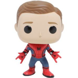Spider-Man (Hot Topic Exclusive): Funko POP! Marvel x Spider-Man - Homecoming Vinyl Figure