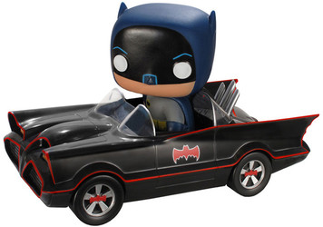 Batmobile: Funko POP! Rides x Batman 1966 Classic TV Vinyl Figure
