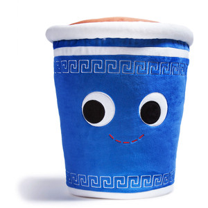 "George Greek Coffee Cup [Large]: ~15"" Kidrobot Yummy World Plush"