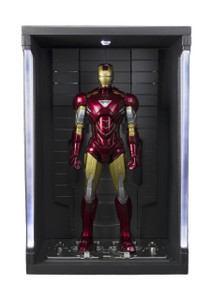 "Iron Man Mark VI and Hall of Armor Set: ~5.9"" Iron Man x Tamashii Nations S.H. Figuarts Action Figure"