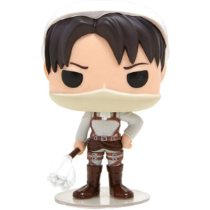 Cleaning Levi (Hot Topic Exclusive): Funko POP! Animation x Attack on Titan Vinyl Figure