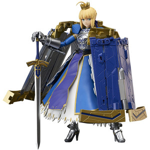 "Saber Arturia Pendragon & Variable Excalibur: ~5.5"" Fate/Grand Order x Tamashii Nations Armor Girls Project Action Figure"
