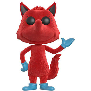 Fox in Socks [Flocked] (GameStop Exclusive): Funko POP! Books x Dr. Seuss Vinyl Figure [#007]