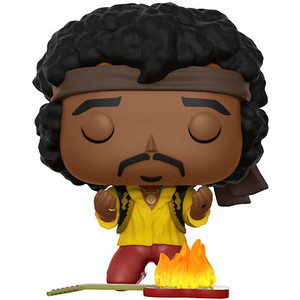 Jimi Hendrix [Woodstock] (f.y.e. Exclusive): Funko POP! Rocks Vinyl Figure [#053]