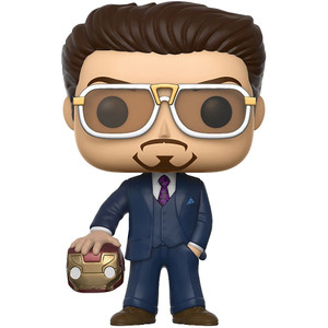 Tony Stark (2017 Summer Con Exclusive): Funko POP! Marvel x Spider-Man - Homecoming Vinyl Figure [#225]
