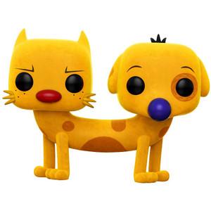 Catdog (2017 Summer Con Exclusive): Funko POP! Animation x Nickelodeon CatDog Vinyl Figure [#221]