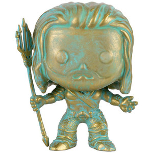 Aquaman [Patina] (EE Exclusive): Funko POP! Heroes x Batman v Superman - 'Dawn of Justice' Vinyl Figure [#087]