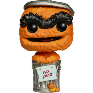 Oscar The Grouch (EE Exclusive): Funko POP! x Sesame Street Vinyl Figure [#003]