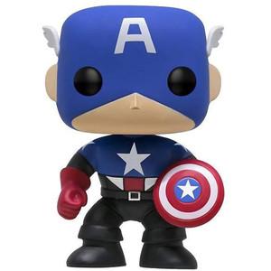 Captain America (2017 Summer Con Exclusive): Funko POP! Marvel Vinyl Figure [#006]