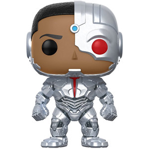 Cyborg: Funko POP! Heroes x Justice League Vinyl Figure [#209]